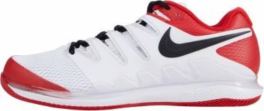 NikeCourt Air Zoom Vapor X - White/Black-university Red (AA8030109)