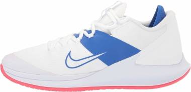NikeCourt Air Zoom Zero - White White Game Royal Flash Crimson (AA8018103)