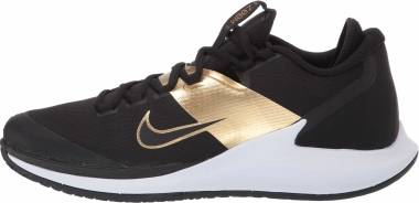 NikeCourt Air Zoom Zero - Black/Black-metallic Gold-white (AA8018005)