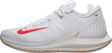 NikeCourt Air Zoom Zero - Multicolore (White/Bright Crimson/Phantom/Black 100)