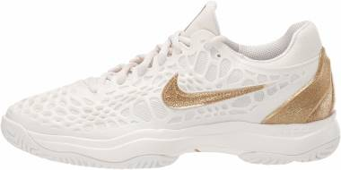 NikeCourt Zoom Cage 3 - Phantom Metallic Gold