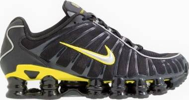 Nike Shox TL - Black/Dynamic Yellow/Metallic Silver