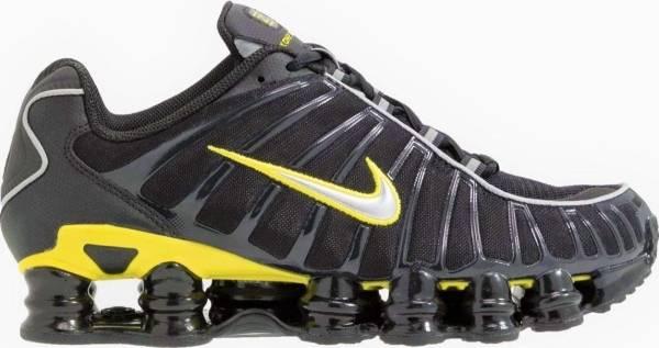 Nike Shox TL - Black/Dynamic Yellow/Metallic Silver