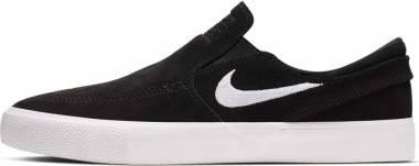 Nike SB Zoom Janoski Slip RM - Black/White-white