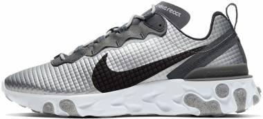 Nike React Element 55 Premium - Silver