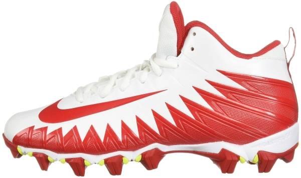 Nike Alpha Menace Shark - White/University Red