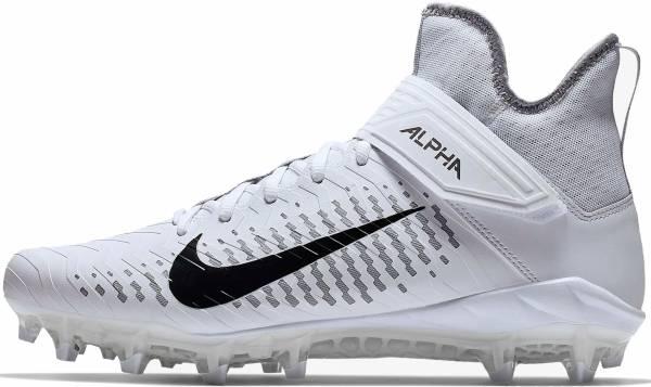 Nike Alpha Menace Pro 2 Mid - White/Black-wolf Grey-anthracite (AQ3209100)