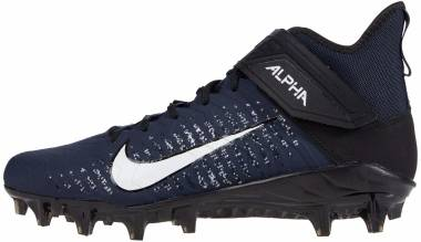 Nike Alpha Menace Pro 2 Mid - College Navy/Black/Black/White (AQ3209403)