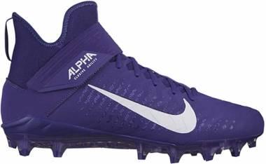 Nike Alpha Menace Pro 2 Mid - Court Purple White Regency Purple (AQ3209500)