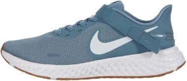 Nike Revolution 5 FlyEase - Blue (BQ3211006)