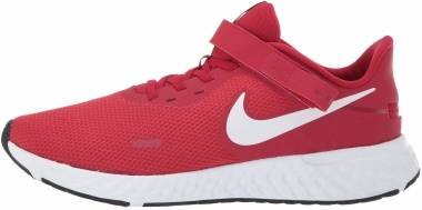 Nike Revolution 5 FlyEase - Rosso Gym Red White Black (CJ9885600)