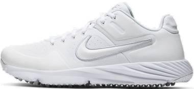 Nike Alpha Huarache Elite 2 Turf - White/White-pure Platinum (CI2221101)