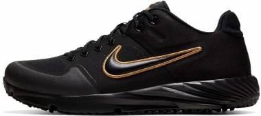 Nike Alpha Huarache Elite 2 Turf - Black/Black (BQ4164005)