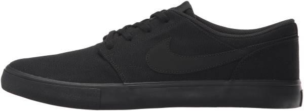 Nike SB Solarsoft Portmore II sneakers in black | RunRepeat