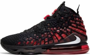 Nike LeBron 17 - Black / White-university Red (BQ3177006)