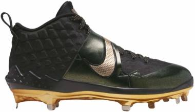 Nike Force Zoom Trout 6 - Black/Metallic Gold (AT3464004)