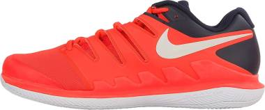 Nike Air Zoom Vapor X Clay - Bright Crimson White 600 (AA8021001)