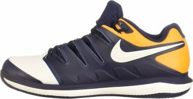 Nike Air Zoom Vapor X Clay - Multicolore Blackened Blue Phantom Orange Peel 400 (AA8021400)