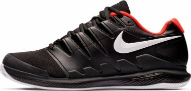 Nike Air Zoom Vapor X Clay - Black White Bright Crimson