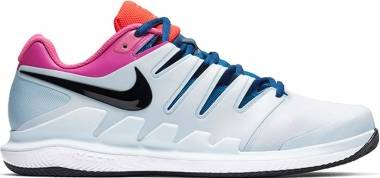 Nike Air Zoom Vapor X Clay - Half Blue/White/Laser Fuchsia/Black (AA8021401)