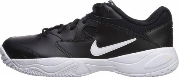 NikeCourt Lite 2 - Black Black White White 1