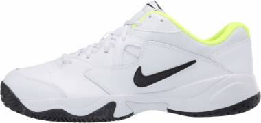 NikeCourt Lite 2 - White Black Volt (AR8836107)