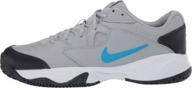 NikeCourt Lite 2 - Light Smoke Grey/Blue Hero-off Noir-white (AR8836011)