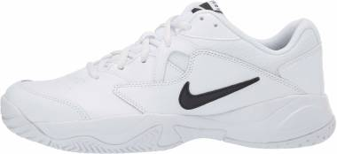 NikeCourt Lite 2 - White/Black - White (AR8836100)