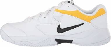NikeCourt Lite 2 - Multicolore White Black White University Gold 101 (AR8836101)