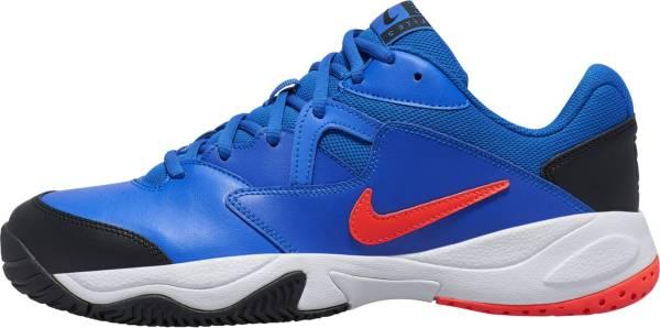 NikeCourt Lite 2 - Racer Blue/Bright Crimson - Black