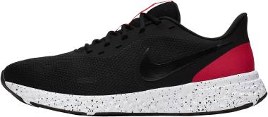 Nike Revolution 5 - Black Anthracite University Red White (BQ3204003)