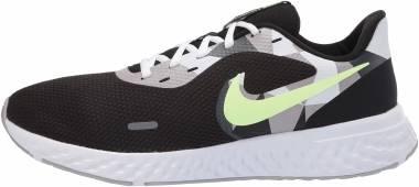 Nike Revolution 5 - Black/White-ghost Green-sapphire-dark Smoke Grey-light Smoke Grey