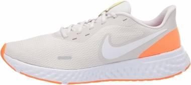 Nike Revolution 5 - Platinum Tint/White-pink Blast-lemon Venom (BQ3204006)