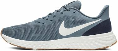 Nike Revolution 5 - Ozone Blue Photon Dust Obsidian (BQ3204012)