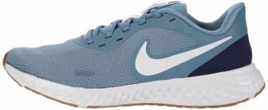 Nike Revolution 5 - Ozone Blue Photon Dust Obsidian (BQ6714006)
