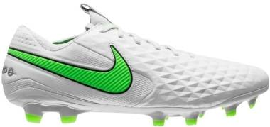 Nike Tiempo Legend VIII Elite Firm Ground - Grey (AT5293030)