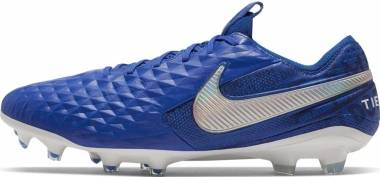 Nike Tiempo Legend VIII Elite Firm Ground - Blue (AT5293414)