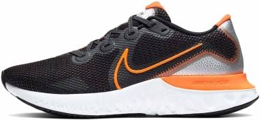 Nike Renew Run - Black Total Orange Particle Gray White (CK6357001)