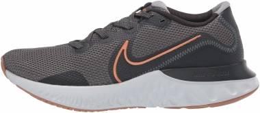 Nike Renew Run - Iron Grey Metallic Copper Gris Humo Oscuro (CK6357004)