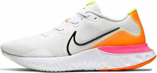 Nike Renew Run - White Black Platinum Tint Pink Blast