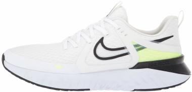 Nike Legend React 2 - White / Black / Electric Green / Vapor Green