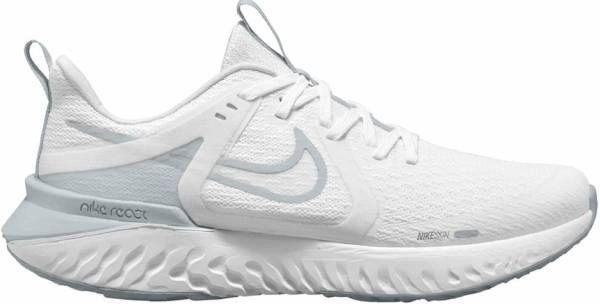 Nike Legend React 2 - White White Pure Platinum 100 (AT1368100)