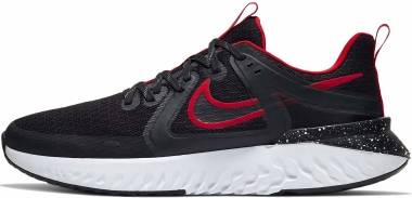 Nike Legend React 2 - Black Black University Red White (AT1368005)