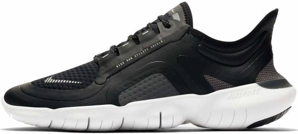Nike Free RN 5.0 Shield - Black Silver Cool Grey (BV1224002)