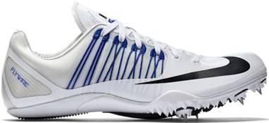 Nike Zoom Celar 5 - Blanc / Noir / Bleu (Blanc / Noir-racer Bleu)