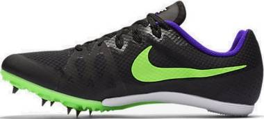 Nike Zoom Rival MD 8 - Black/Fierce Purple/Green Strike (806555035)