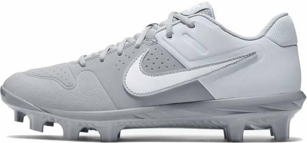 Nike Alpha Huarache Varsity Low MCS  - Wolf Grey/White/Pure Platinum