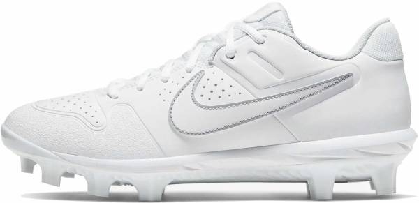 Nike Alpha Huarache Varsity Low MCS  - White Pure Platinum White (AO7959101)