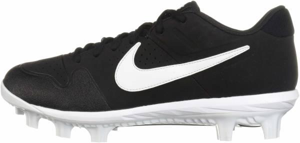 Nike Alpha Huarache Varsity Low MCS  - Black/White - Oil Grey (AO7959001)