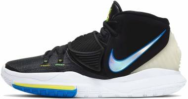 Nike Kyrie 6 - Negro Blanco Soar Dynamic Yellow (BQ4630004)